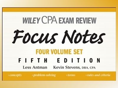 Wiley CPA Examination Review Set, 5th Edition av Less Antman