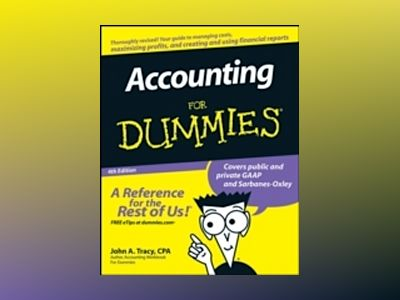 Accounting For Dummies, 4th Edition av John Tracy