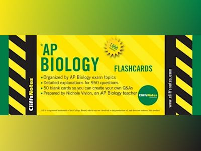 CliffsNotes AP Biology Flashcards av Nichole Vivion