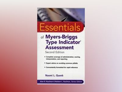 Essentials of Myers-Briggs Type Indicator Assessment, 2nd Edition av Naomi L. Quenk