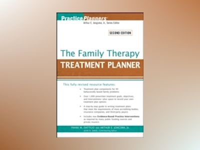 The Family Therapy Treatment Planner, 2nd Edition av Frank M. Dattilio