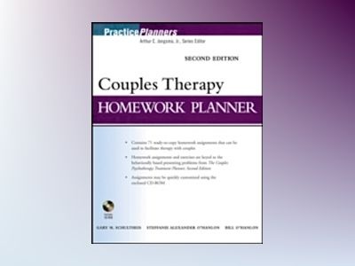 Brief Couples Therapy Homework Planner, 2nd Edition av Gary M. Schultheis