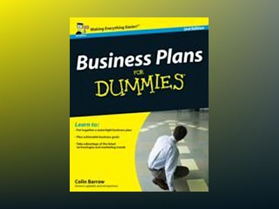 Business Plans For Dummies, 2nd Edition av Paul Tiffany