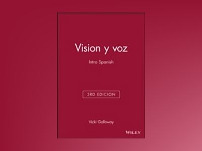 Vision y voz: Intro Spanish, Audio CD Set, 3rd edicion av Vicki Galloway