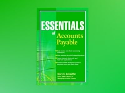 Essentials of Accounts Payable av Mary S. Schaeffer