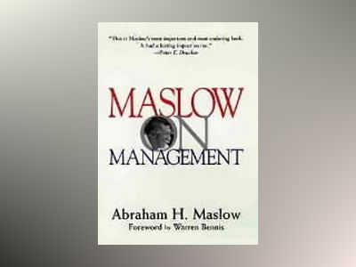 Maslow on Management av Abraham H. Maslow