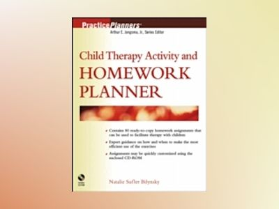 Child Therapy Activity and Homework Planner av Natalie Sufler Bilynsky