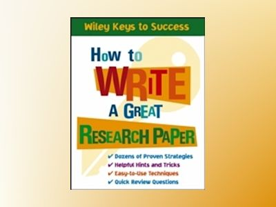 How to Write a Great Research Paper av Book Builders