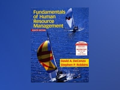 WIE Human Resource Management, 8th Edition, International Edition av David A. De Cenzo