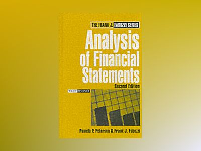 Analysis of Financial Statements, 2nd Edition av Pamela P. Peterson