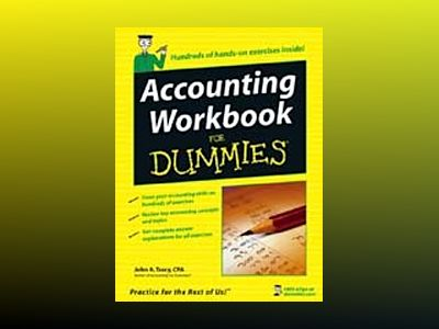 Accounting Workbook For Dummies av John A. Tracy
