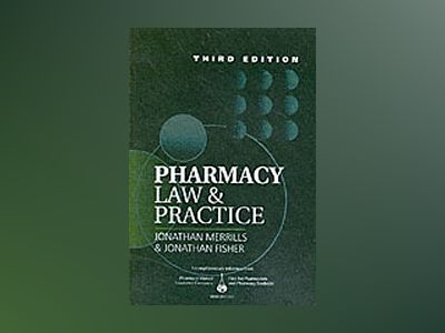 Pharmacy law and practice av Fisher