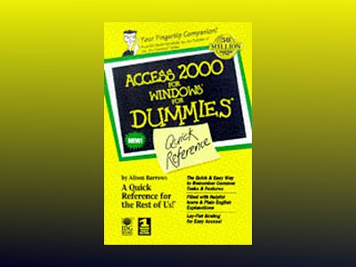 Access 2000 for Windows For Dummies Quick Reference av Alison Barrows