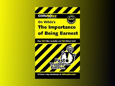 CliffsNotes Importance of Being Earnest av Susan Van Kirk