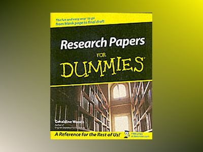 Research Papers For Dummies av Geraldine Woods