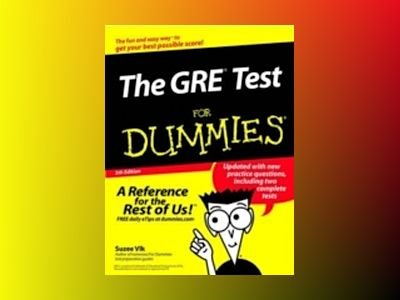 The GRETest For Dummies, 5th Edition av Suzee Vlk