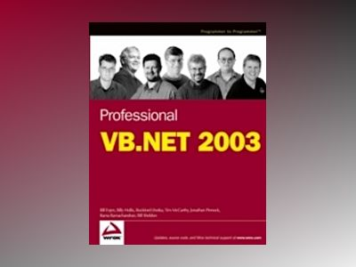 Professional VB.NET 2003 av Bill Evjen