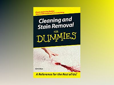 Cleaning Stain Removal for Dummies av Gill Chilton