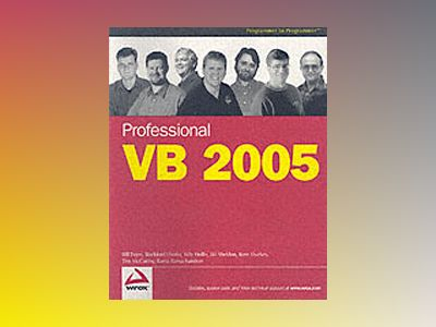 Professional VB 2005 av Bill Evjen