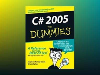 C# 2005 For Dummies av Stephen Randy Davis