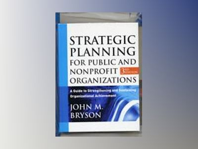 Bryson Strategic Planning Set av John M. Bryson
