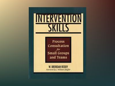 Intervention Skills: Process Consultation for Small Groups and Teams av W. Brendan Reddy