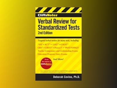CliffsNotes Verbal Review for Standardized Tests av William A. Covino