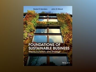 Foundations of Sustainability av Nada R. Sanders