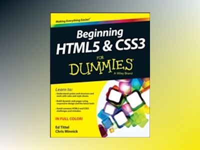 Beginning HTML5 and CSS3 For Dummies av Ed Tittel