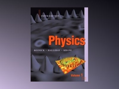 Physics 5th Edition, Volume 1 with WileyPLUS Card Set av David Halliday