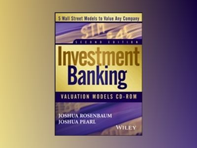 Investment Banking Valuation Models DVD av Joshua Rosenbaum