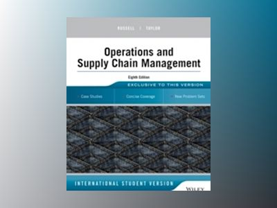 Operations Management: Creating Value Along the Supply Chain, 8th Edition I av Roberta S. Russell