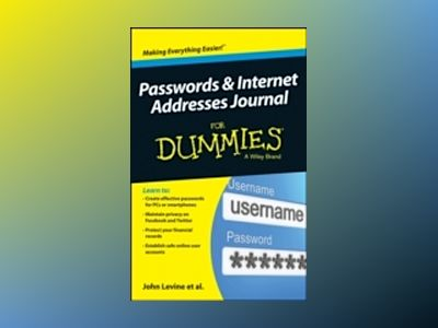 Passwords & Internet Addresses Journal For Dummies av John R. Levine