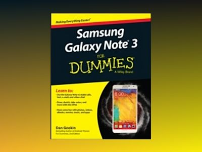 Samsung Galaxy Note 3 For Dummies av Dan Gookin
