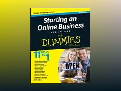 Starting an Online Business All-in-One For Dummies, 4th Edition av Shannon Belew