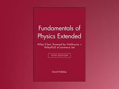 Fund Physics Ext 10E WLYETX+WPEC SET av David Halliday