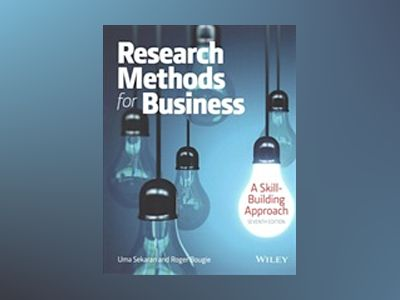 Research Methods For Business: A Skill Building Approach 7e with WileyPLUS av Uma Sekaran