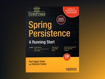 Spring Persistencemdash; A Running Start av Fisher