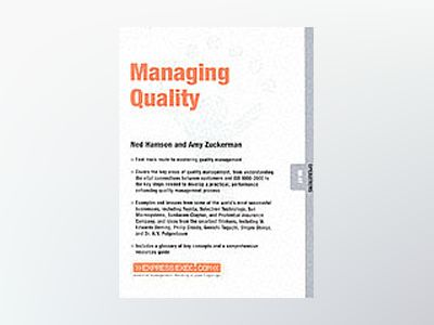 Managing Quality av Amy Zuckerman
