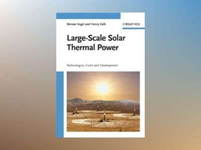 Large-Scale Solar Thermal Power : Technologies, Costs and Development av Werner Vogel