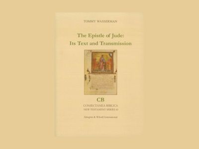 The epistle of Jude: its text and transmission av Tommy Wasserman