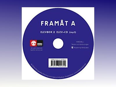 Framåt A 2:a uppl Elevbok 2, Elev-cd (mp3) av Margareta Mörling