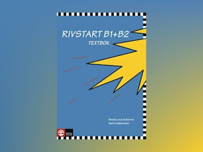 Rivstart B1+B2 Textbok med cd mp3 av Paula Levy Scherrer