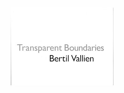 Transparant Boundaries av Bertil Vallien