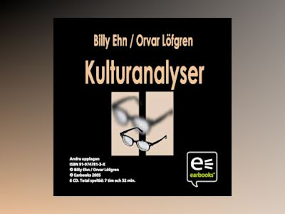 Kulturanalyser av Billy Ehn