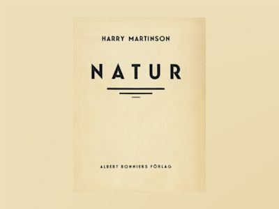 Natur : dikter av Harry Martinson