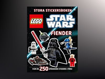 Lego star wars stora stickersboken : fiender av Shari Last