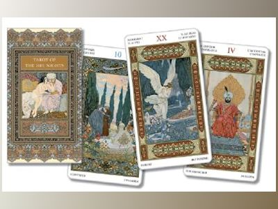 Tarot of the Thousand and One Nights (Lo Scarabeo Decks) av Lo Scarabeo