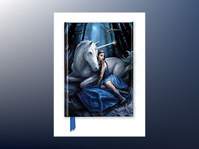 Anne Stokes: Blue Moon (Foiled Journal) av Flame Tree Studio