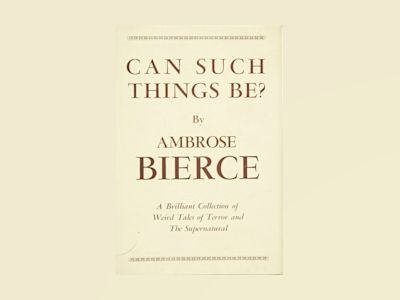 Can such things be? av Ambrose Bierce